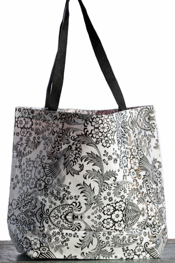 Paradise Black Large Tote