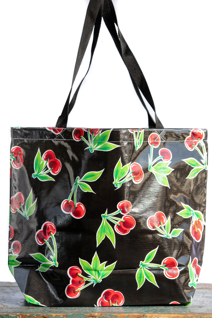 Stella Black Large Tote