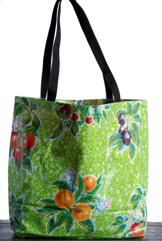 Summer Fruit Lime Large Tote