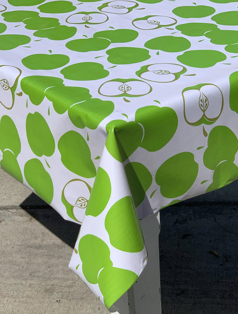 apples fruit mexican oil cloth tablecloth