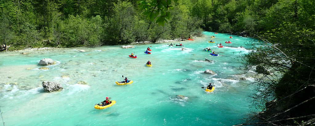 European Packrafting Meet-up, Soca River 2018
