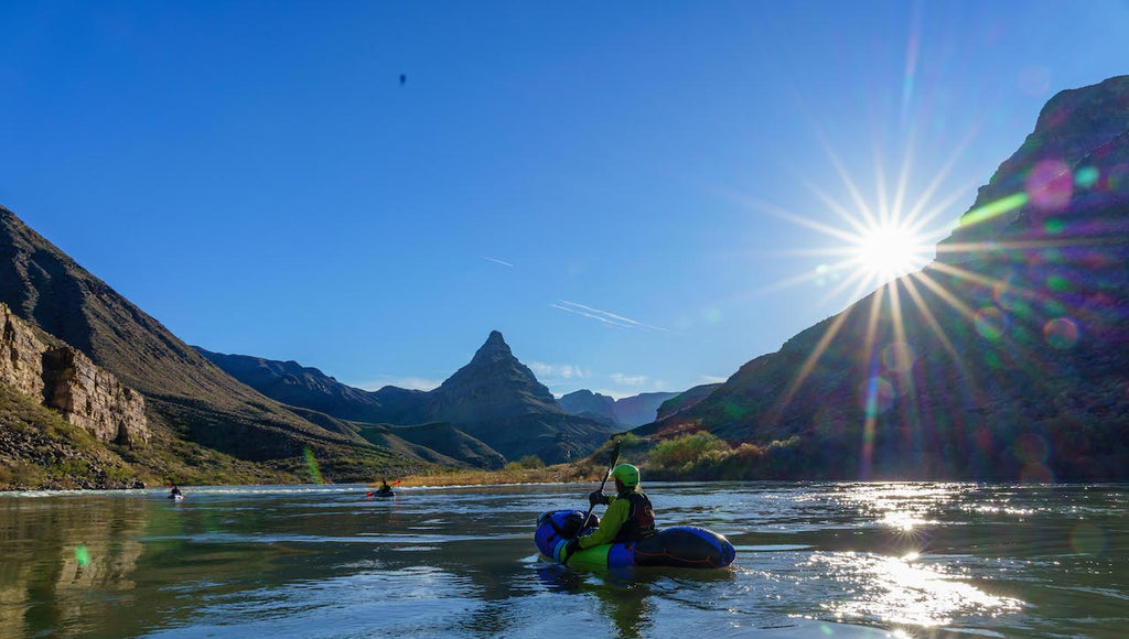 Packrafting with Alpacka Raft