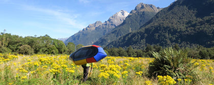 Packrafting the Hollyford Pyke New Zealand