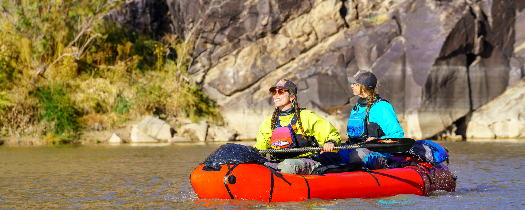 Alpacka Oryx Packraft on Colorado River