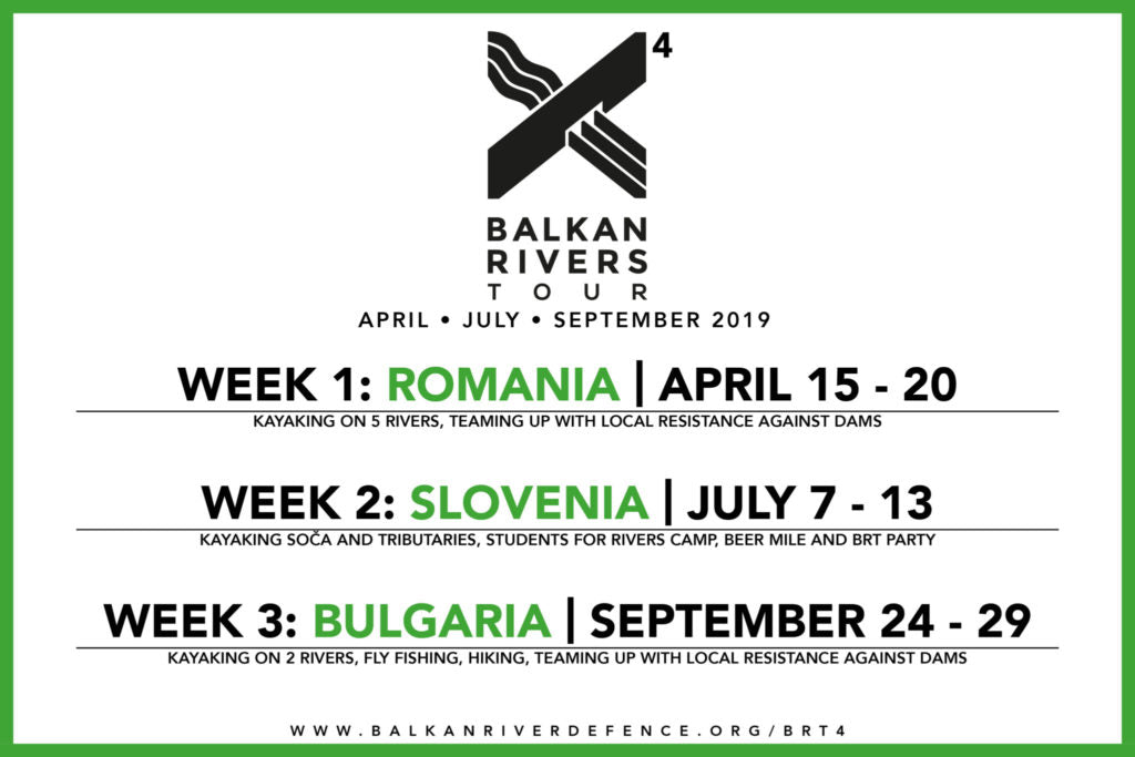 Balkan Rivers Tour 2019