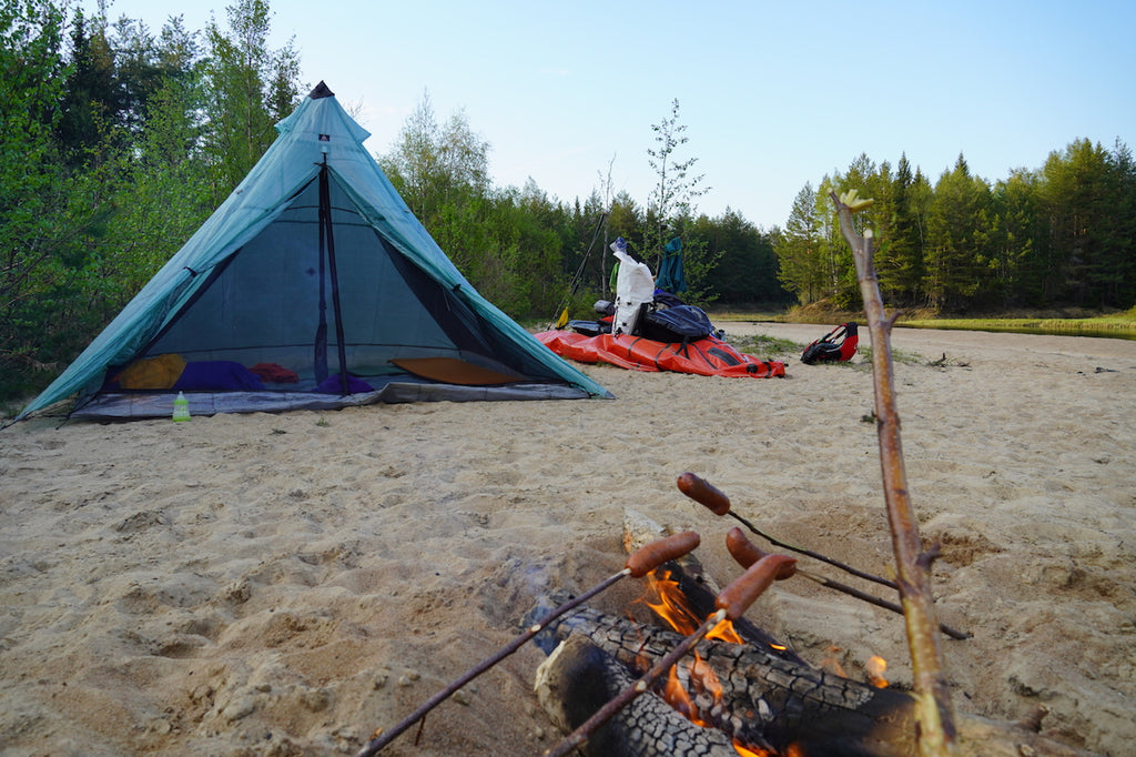 Overnight Packrafting trip with the Alpacka Oryx in Sweden