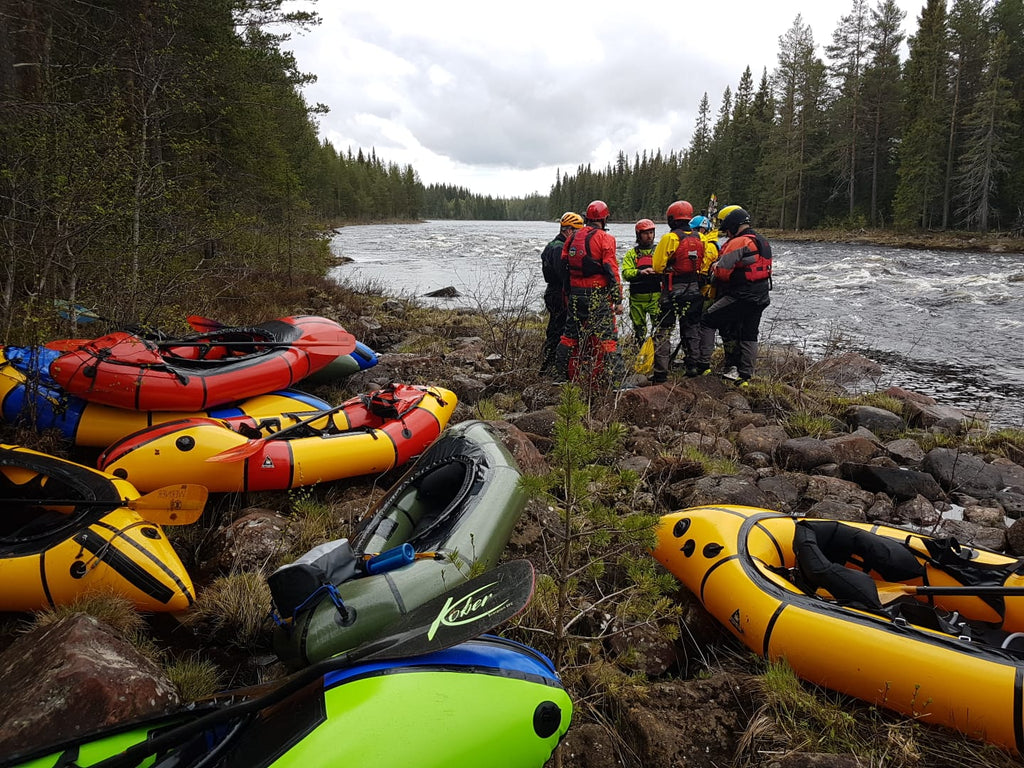 Nordic Packrafting Roundup Sweden 2019