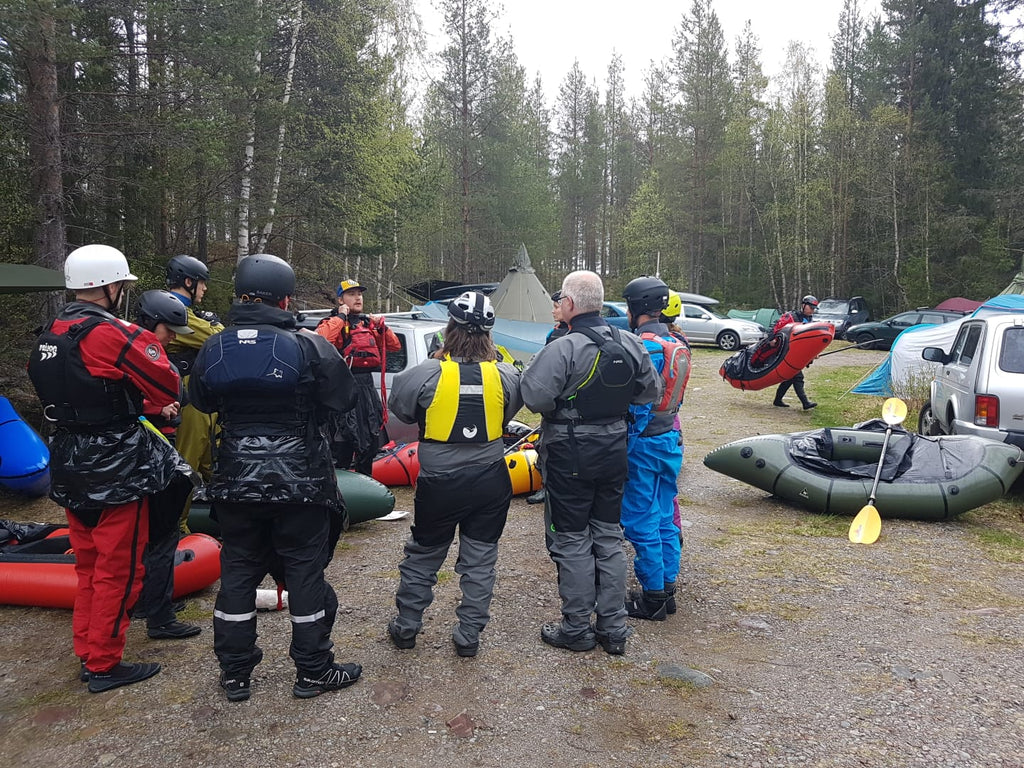 Briefing at the Nordic Packrafting Meet-up