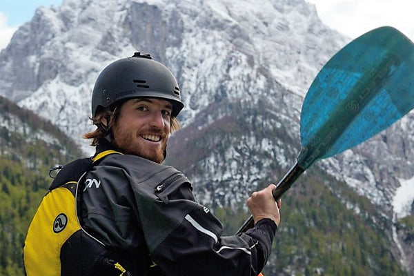 Max Clemencon Paddling the French Alps