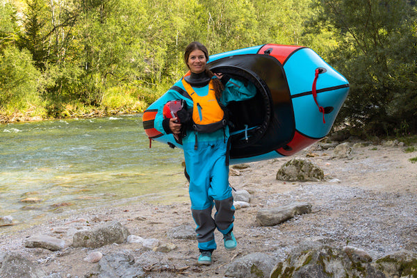 Michaela Crockford-Laserer Packraft Europe