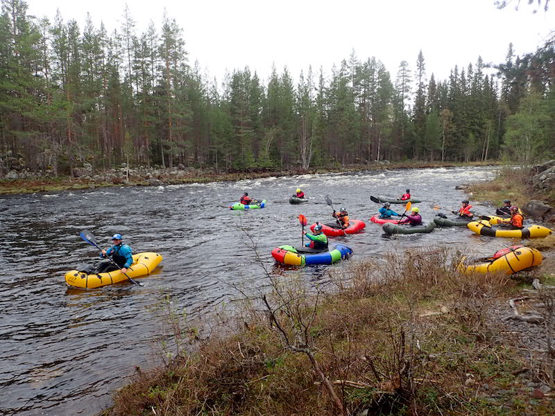 Nordic Packrafting Roundup 2019 in Sweden