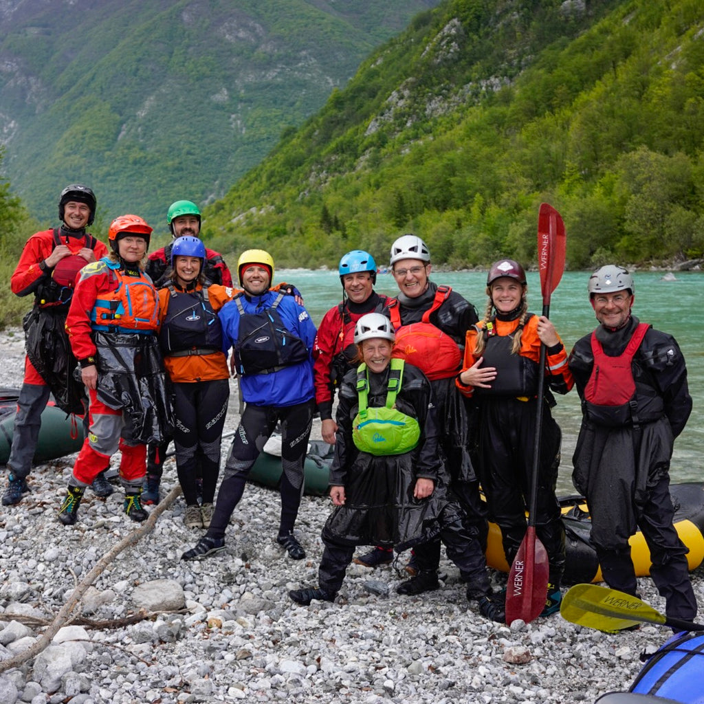 Packrafting workshop during the European Packrafting Meet-up