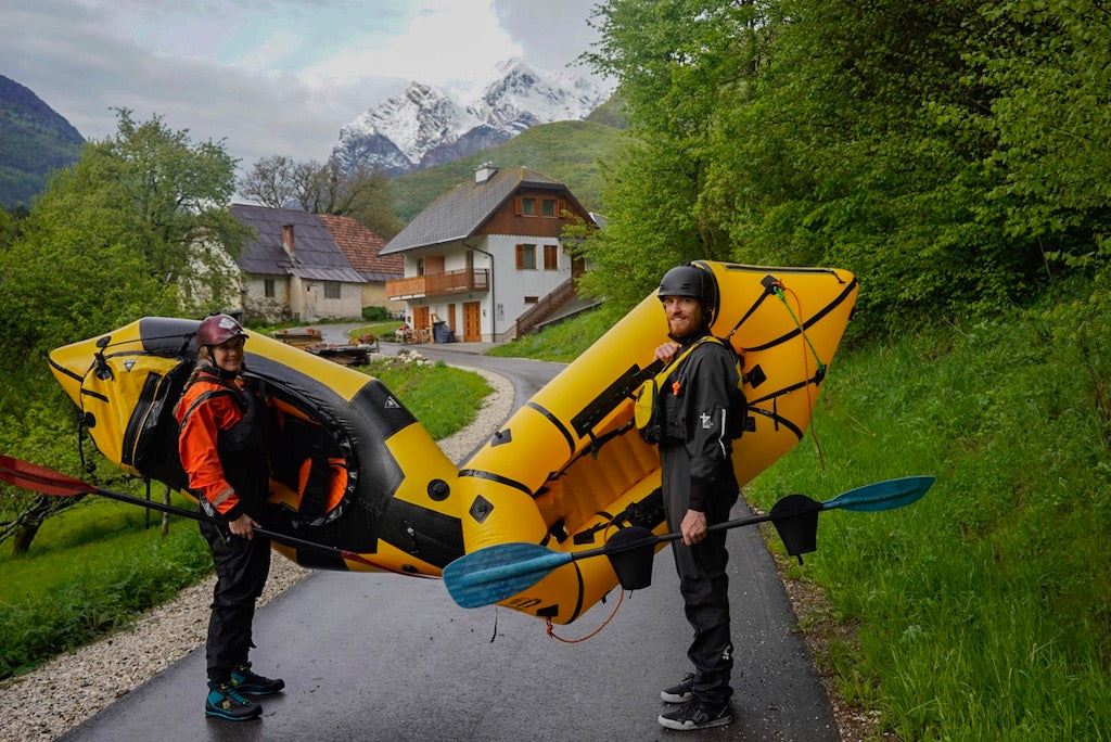 Packrafters at European Packrafting Meet-up