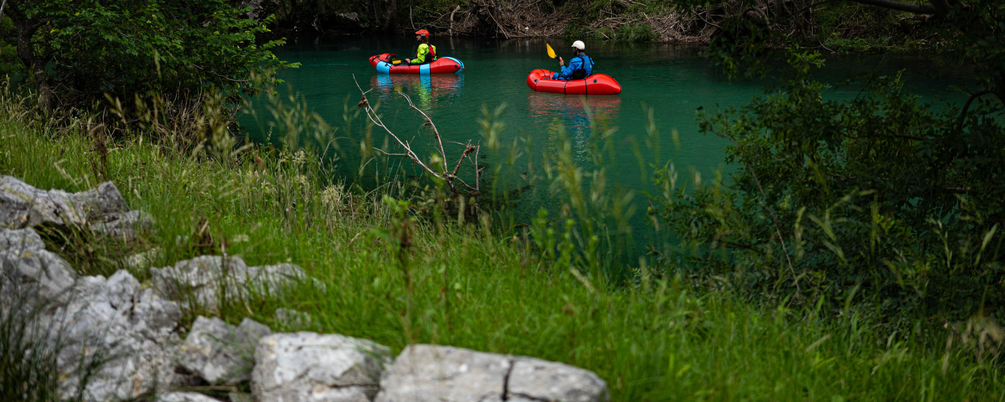 Packrafting Zrmanja River Croatia