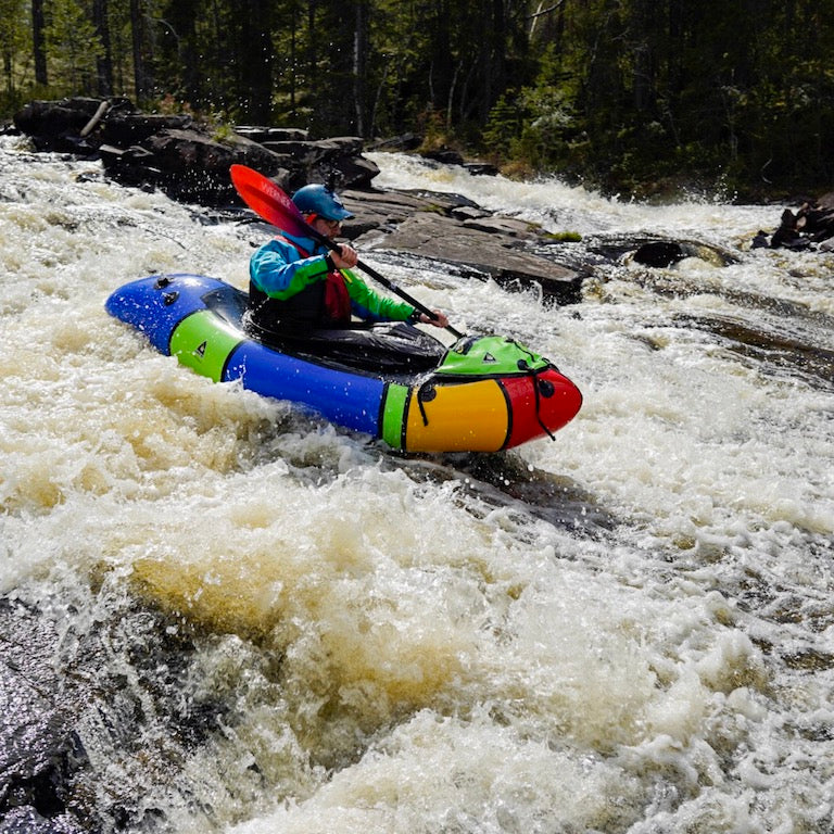 Packrafting Sweden
