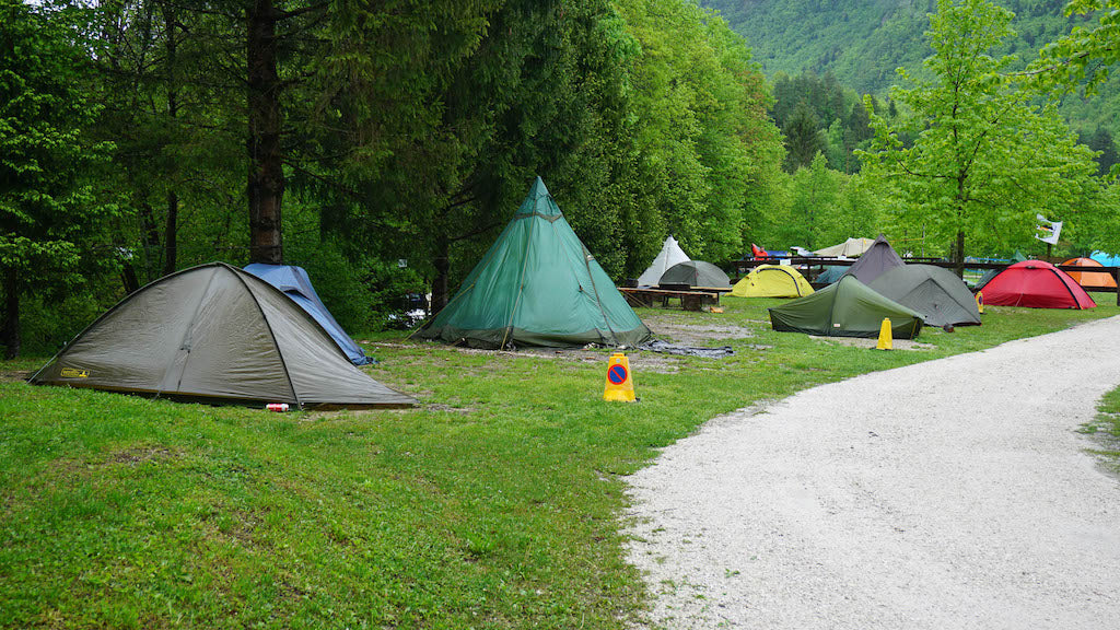 Tents at the European Packrafting Meet-up