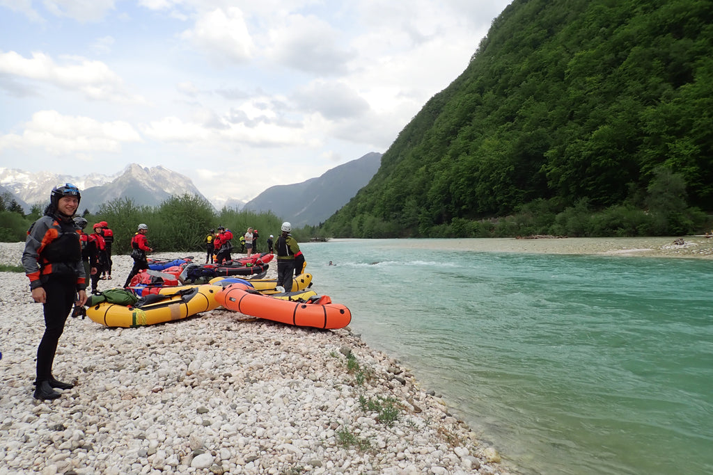 Whitewater Swimming Training at the 2018 European Packrafting Meetup