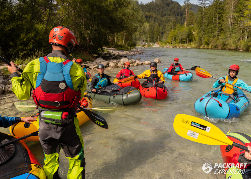 Packraft boofing workshop