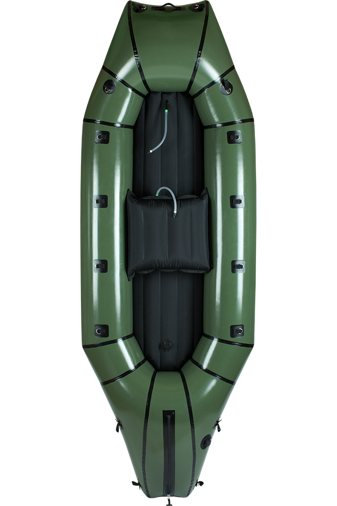 Alpacka Forager 2 person Packraft Cedar Green