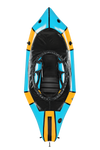 Alpacka Gnarwhal Whitewater Deck Packraft - Forget Me Not