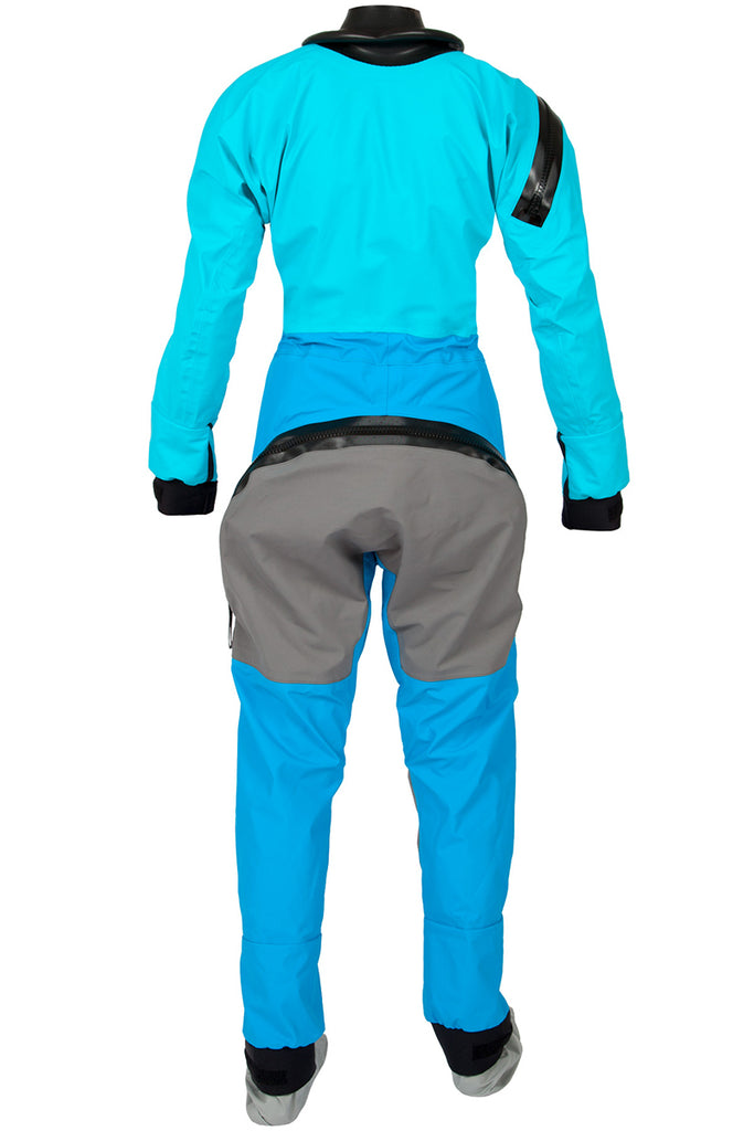Women's Kokatat Swift Entry Dry Suit (Hydrus 3.0) with Dropseat and Socks