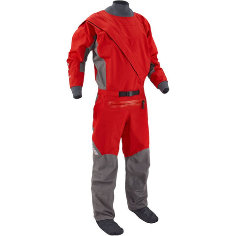 NRS Extreme Packraft Dry Suit Salsa Front View
