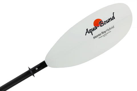 Aquabound Manta Ray Hybrid 4-Piece Packraft Paddle