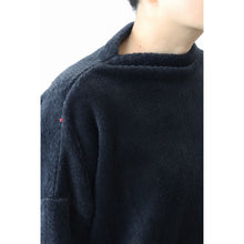 ヒムカシ製図 / control boat neck 偽knit  -  ( polartec high loft )