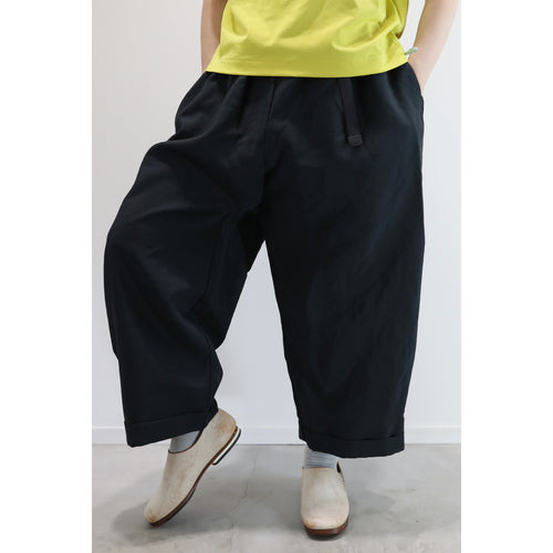 ヒムカシ製図 / pack-man easy ju-do salong pants 4.0  -  ( 偽リネン )