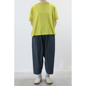 ヒムカシ製図 / boat neck wide wide tee  -  ( polartec power dry )