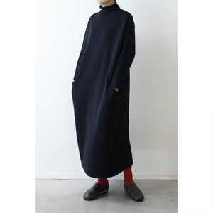 ヒムカシ製図 / relaxation off turtleneck one piece 2.0  -  ( POLARTEC  power stretch pro )