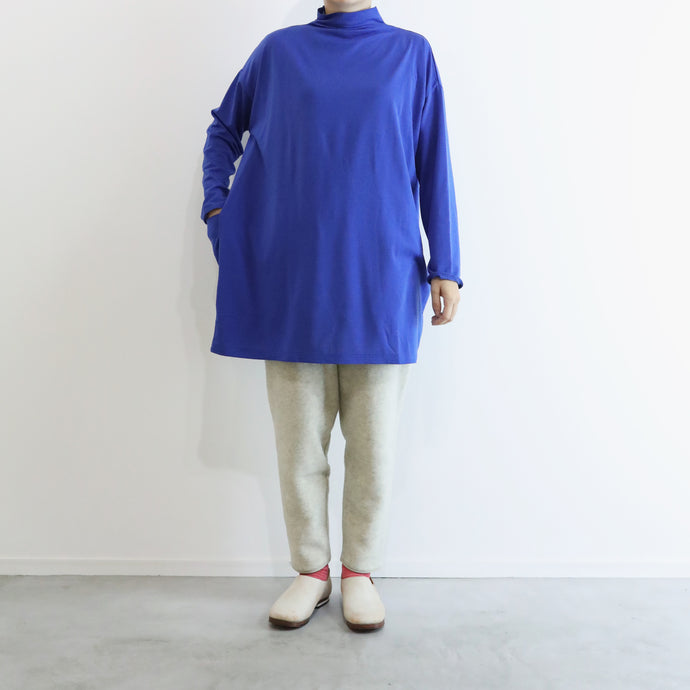 ヒムカシ製図 / thermostat off turtle tunic  -  ( polartec  power grid )