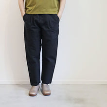 ヒムカシ製図 / 耳鳴!  straight pants  -  ( special touch bulky ox / 裏 top black )