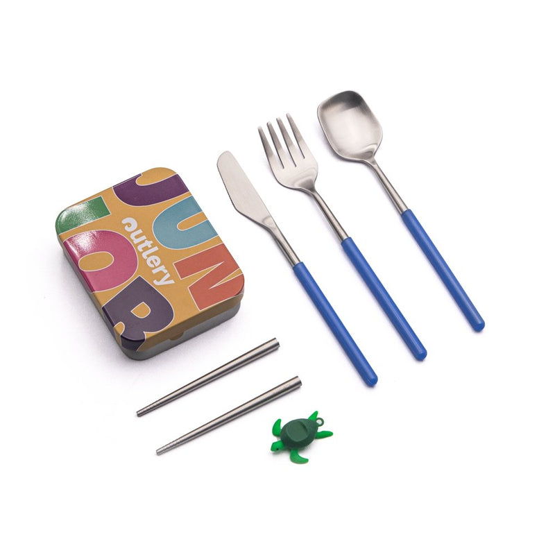 Junior Set - Outlery-reusable-cutlery-travel-set-for-on-the-go