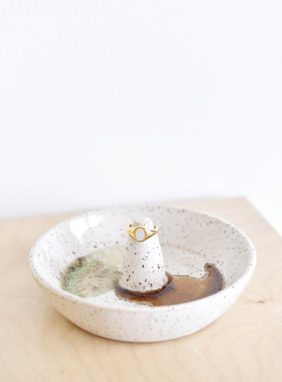 FAIR. x HelloPottery Gio Ring & Ring Dish