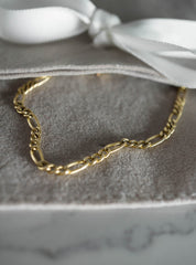 Figaro Chain Necklace - 14K Gold-Fill