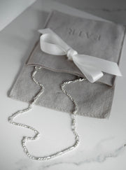 Figaro Chain Necklace - Silver