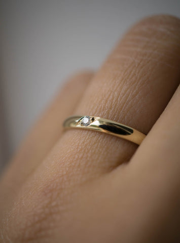 Étoile Wedding Ring *Made-to-Order