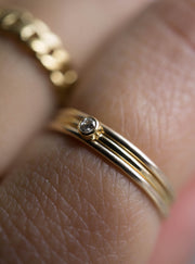 Baby Diamond Ring *Made-to-Order