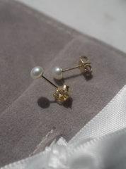 3mm Pearl Studs *Made-to-Order
