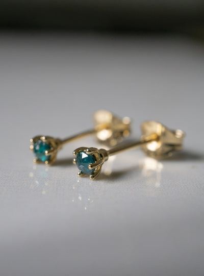 Glacier Diamond Studs *Made-to-Order