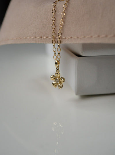 Diamond Flower Charm *Made-to-Order