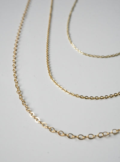 1.5mm Gold-fill Chain
