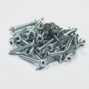 Robertson® Countersunk Self Tapping Woodscrews Zinc