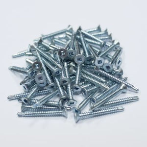 Robertson® Countersunk Self Drilling Zinc Screws