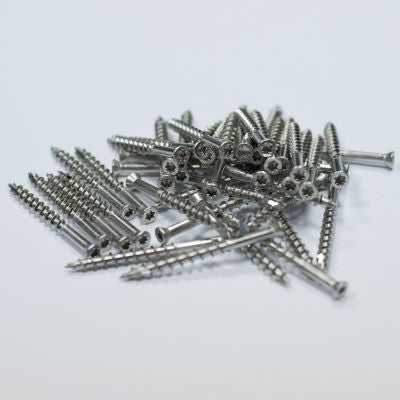 Deckwise Stainless Trim Head Screw 8×2(50mm Long) T15 350 pieces.