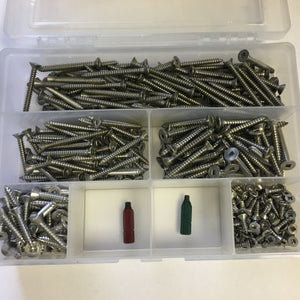 Stainless Steel Robertson® Screw Set