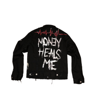 MoneyHealsMe Denim Jacket