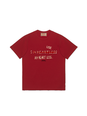I USE MY HEART LESS Tee