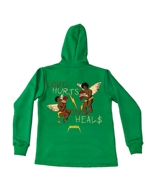 Love hurts Money heals hoodie